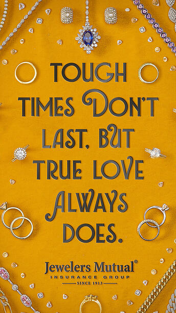 Tough times don't last social post