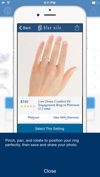 Blue Nile app