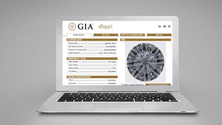 GIA Diamond eReport