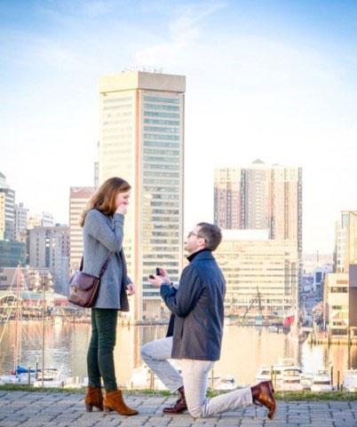 Blair's surprise proposal