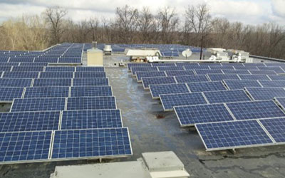 Solar panels installed at Jewelers Mutual helps company go green with largest system in the Fox Cities