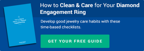 How to Clean & Care for Your Diamond Engagement Ring